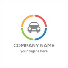 Classic Car logo vector