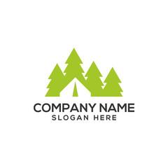 Adventure, Mountain and Nature logo vector