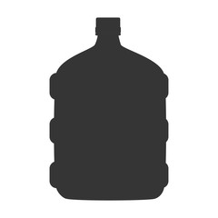 bog bottle gallon drink icon vector graphic
