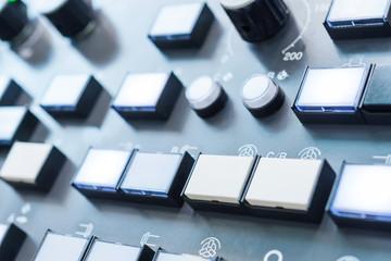 Numeric keypad CNC machine