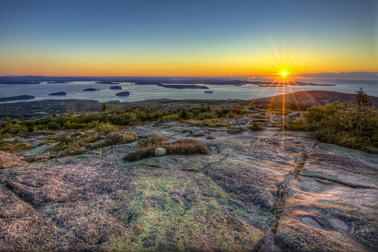 """Cadillac Mountain Sunrise"""