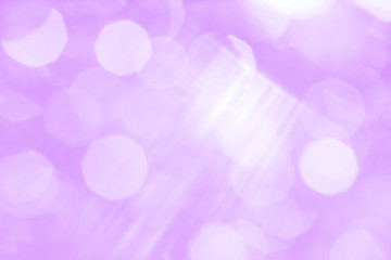 Abstract lilac background with white spots and stripes