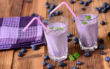 Blueberries drink