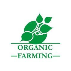 Farming logo natural vector design