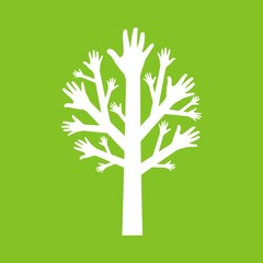 дерево из рук