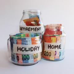 South African Money Savings Jar