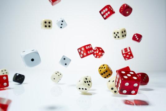 Spielwürfel - fallen 2