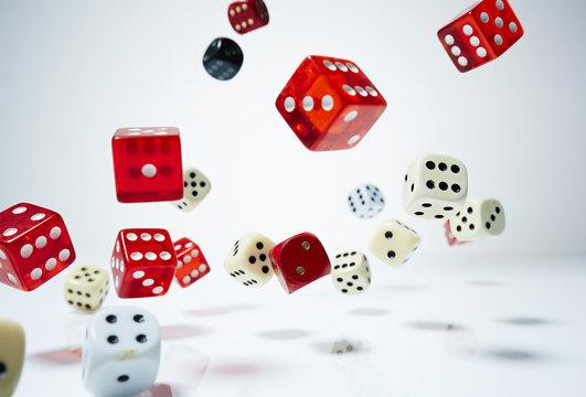 Spielwürfel - fallen 1