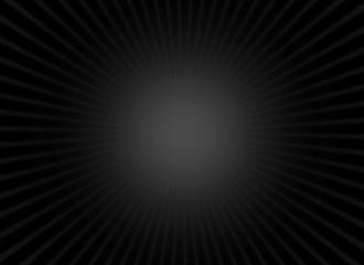 Dark radiant black background with light effect