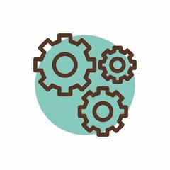 science logo icon vector