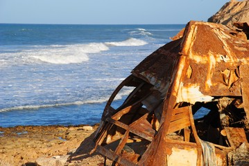 Libyan wreck