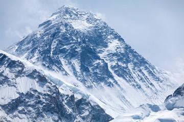Fototapete - Summit of mt. Everest from Kala Patthar, Solu Khumbu, Nepal