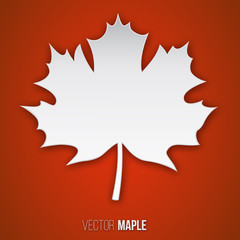 paper maple leaf
