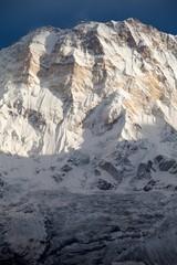 Fototapete - South face of Annapurna I from Annapurna Base Camp, Annapurna Sanctuary, Kaski District, Nepal