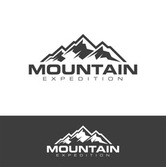 Outdoor logo design vector