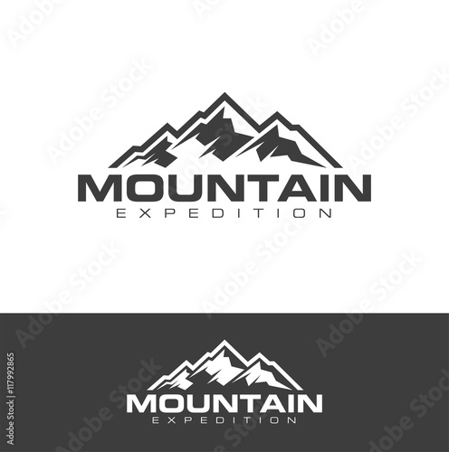 outdoor logo design vector stock image and royalty free vector
