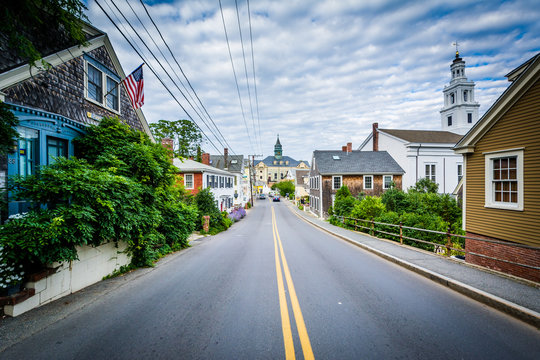 Bradford Street, in Provincetown, Cape Cod, Massachusetts.