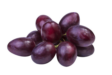 Fototapete - grapes Isolated on the white