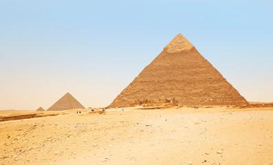 Pyramids in Giza. Egypt