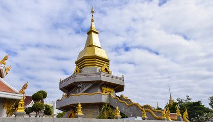 Big ancient pagoda at thailand