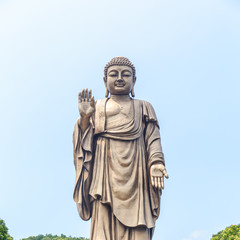 Fotobehang Fontaine Wuxi Grand Buddha at Lingshan in China