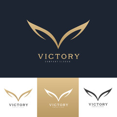 Wings Logo, Eagle wing logo,bird symbol,freedom logo, Sport logo,vector logo template.