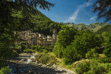 Rosazza, Piemonte città sul torrente