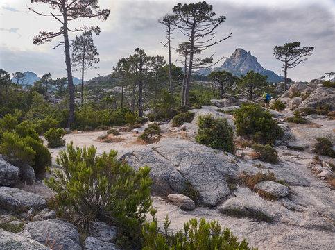 Mountains near Porto Veccio