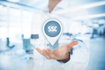 Shared services center SSC