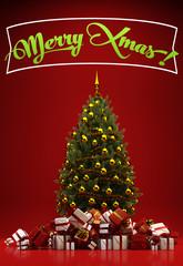 Merry Xmas mit vielen Geschenken