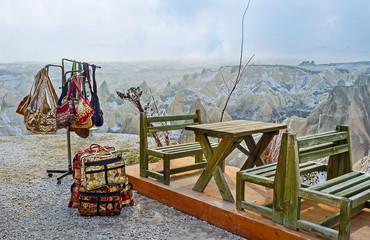 The souvenirs in Cappadocia