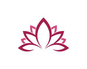 Lotus flower health logo