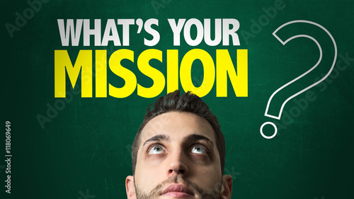 """Whats Your Mission?"" Stock photo and royalty-free images ..."