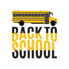 Back to school poster design.