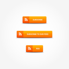 Subscribe RSS Buttons
