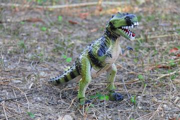 toy dinosaur.
