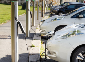Free Recharging Station for electric cars.