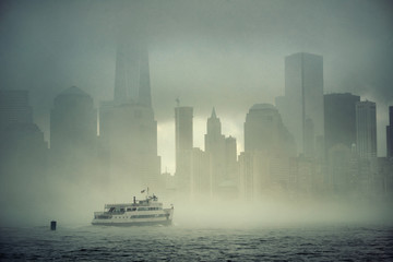 Fotomurales - New York City fog