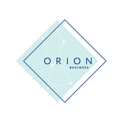Orion business vector logo