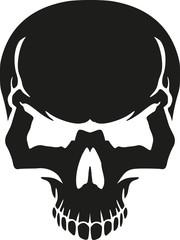 Bad skull head