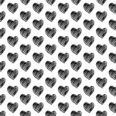 heart icon background illustration design