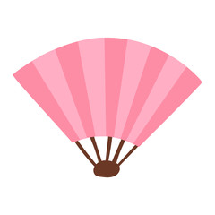 Chinese fan traditional asian isolated