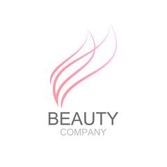 Abstract beauty industry and fashion logo,Identity for beauty, e