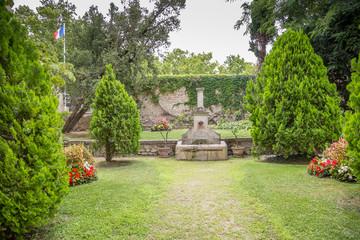 Fontaine à Pernes-les-Fontaines