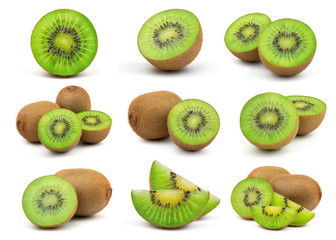 Fresh Green Kiwi Fruit