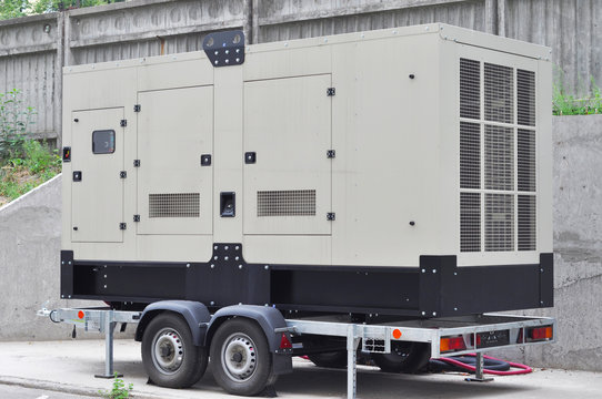 Commercial backup generator. A standby generator is a back-up electrical system that operates automatically. A standby power system may include a standby generator, batteries and other apparatus.