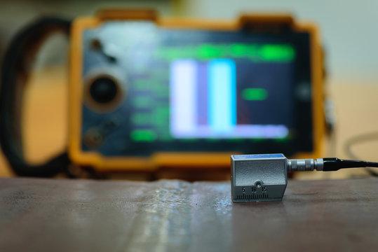 Welding inspection by Ultrasonic Testing