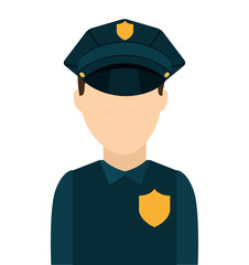 police law isolated icon