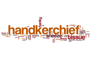 Handkerchief word cloud