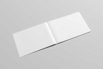 A4 Landscape Catalog / Magazine Mock-Up - Perfect Binding